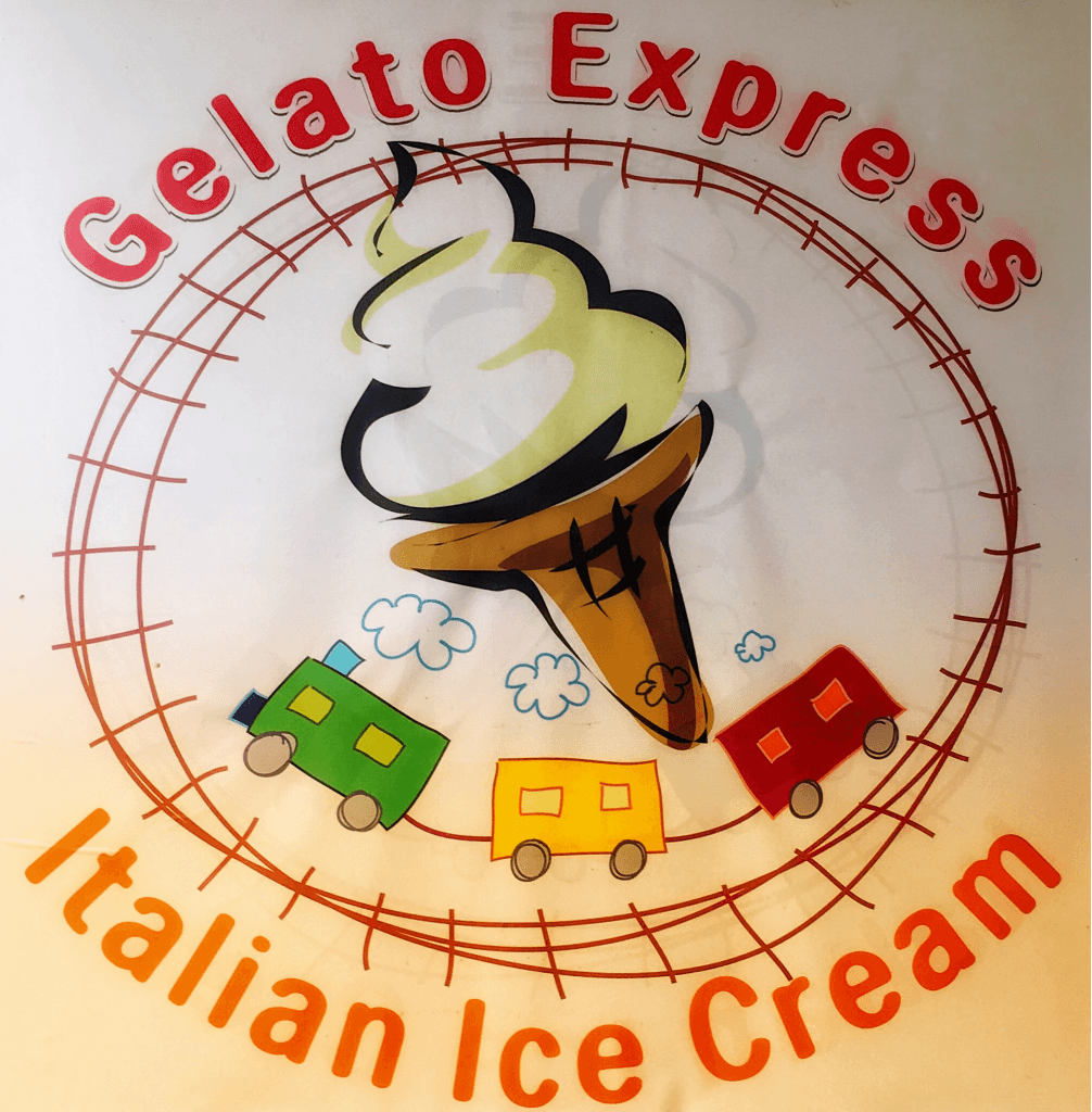 Gelato Express Advertisment