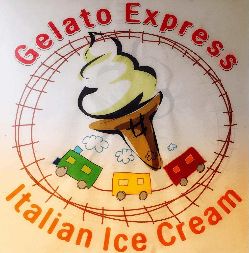 Gelato Express Advertisment