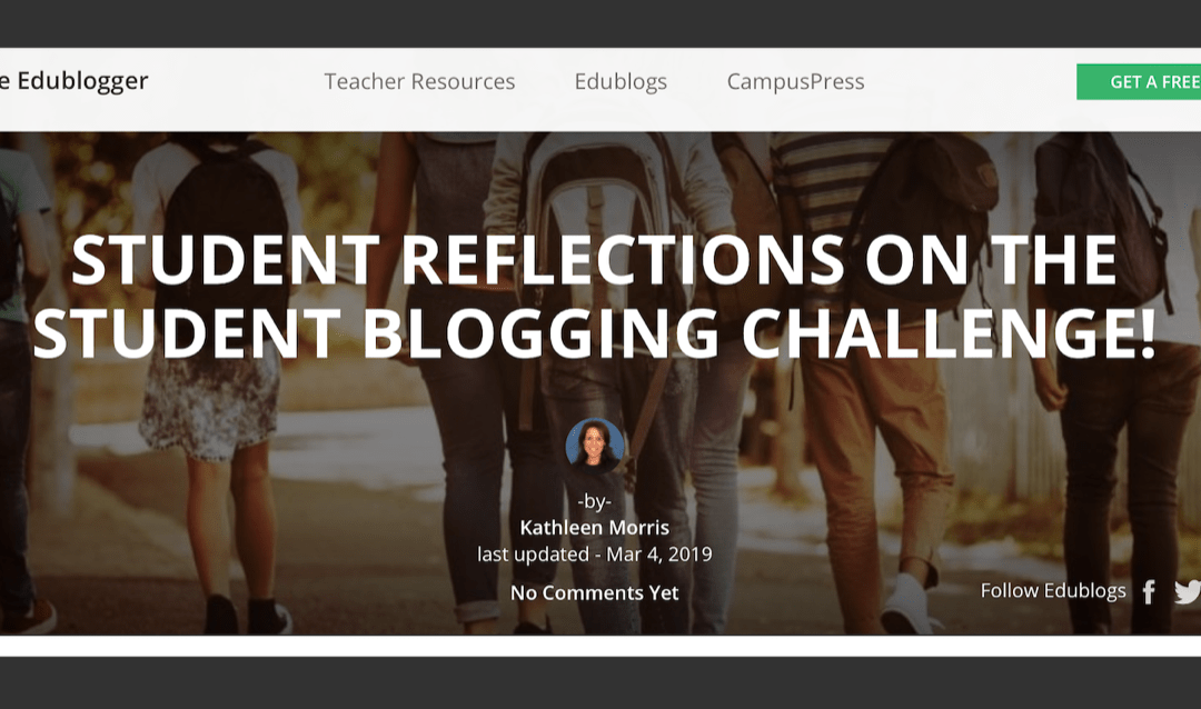 Edublogs Features PLP Students