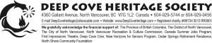 Deep Cove Heritage Society.docx