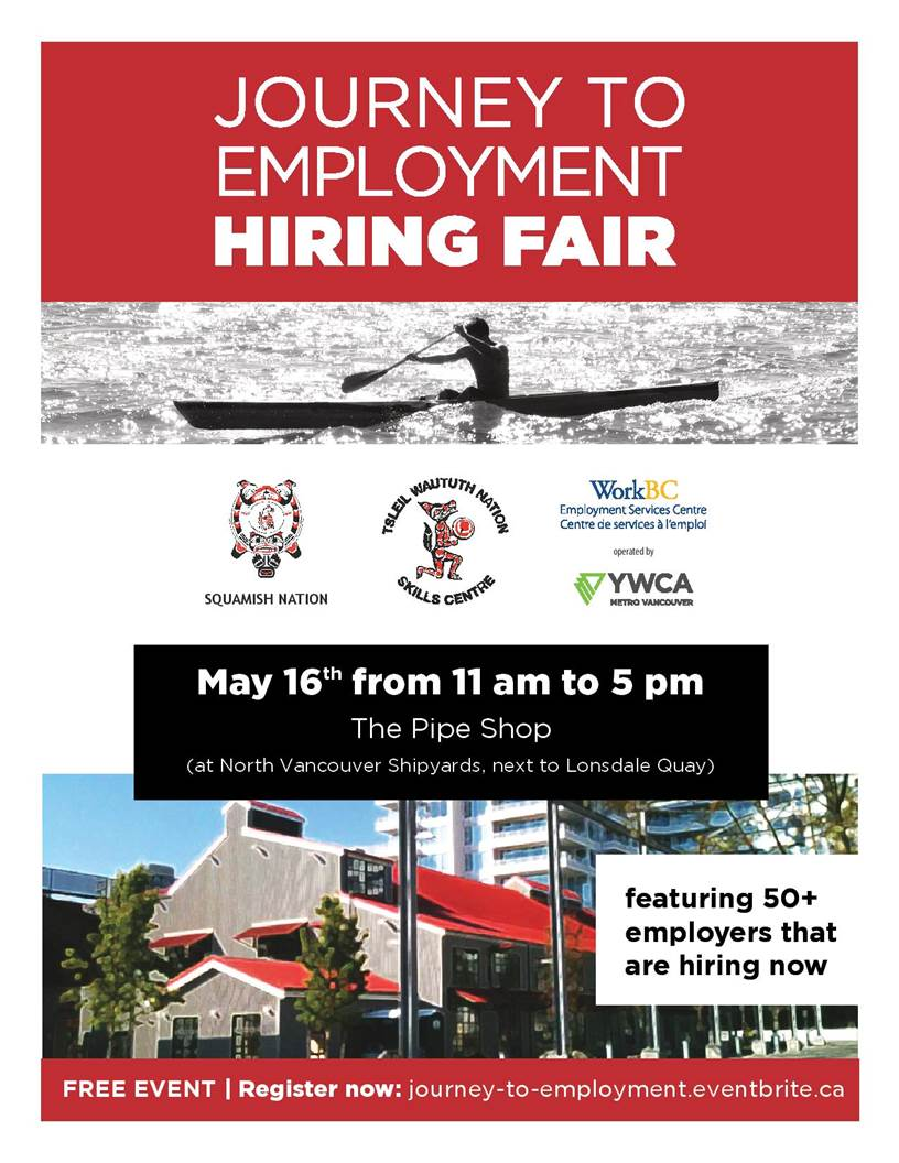 Journey to employment hiring fair seycove work experience when may 16th 2018 from 11 am to 5 pm malvernweather Gallery