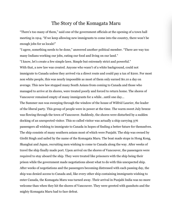 Essay on komagata maru engineer intitle inurl resume resume satcom system