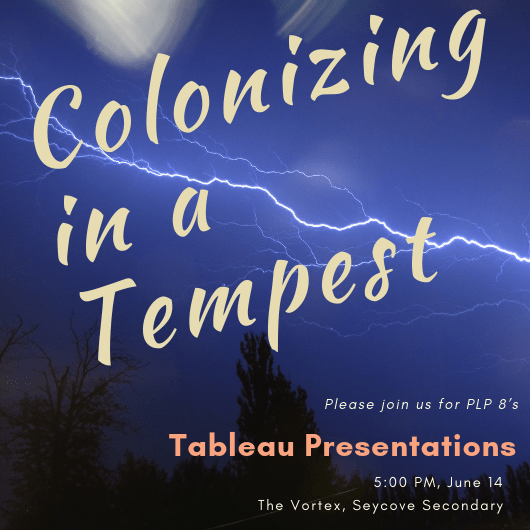 Colonizing in a Tempest