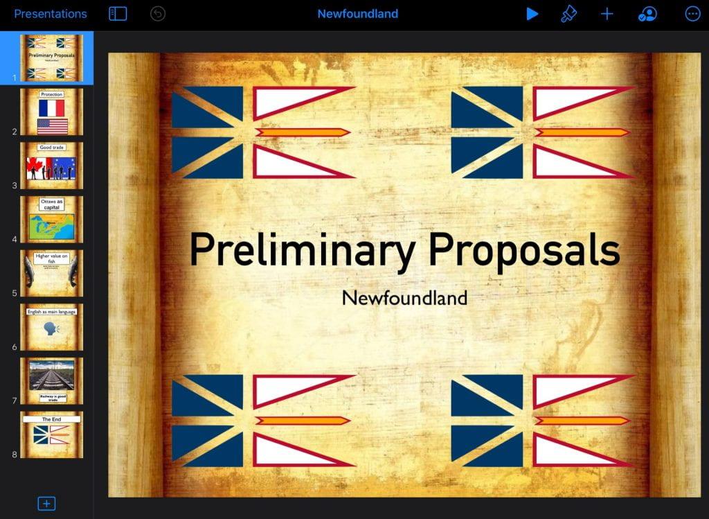 Confederation, 2020