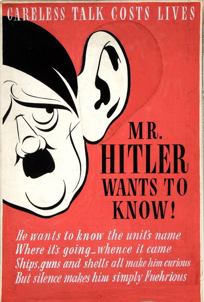 Propaganda In The War, Ninth weekly post