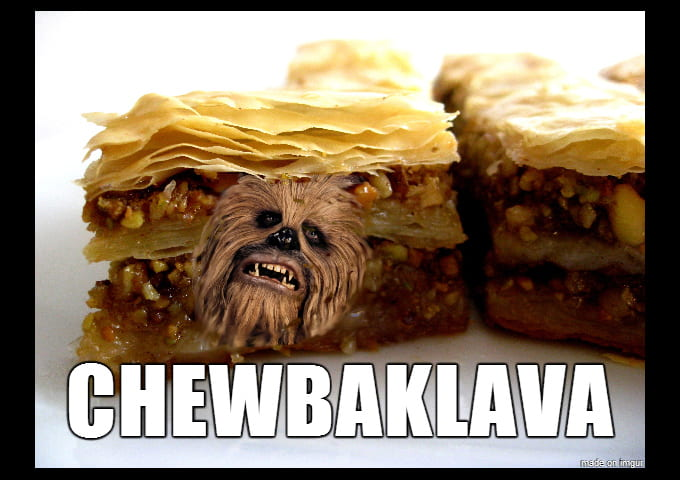 A bad Star Wars pun to start your day off