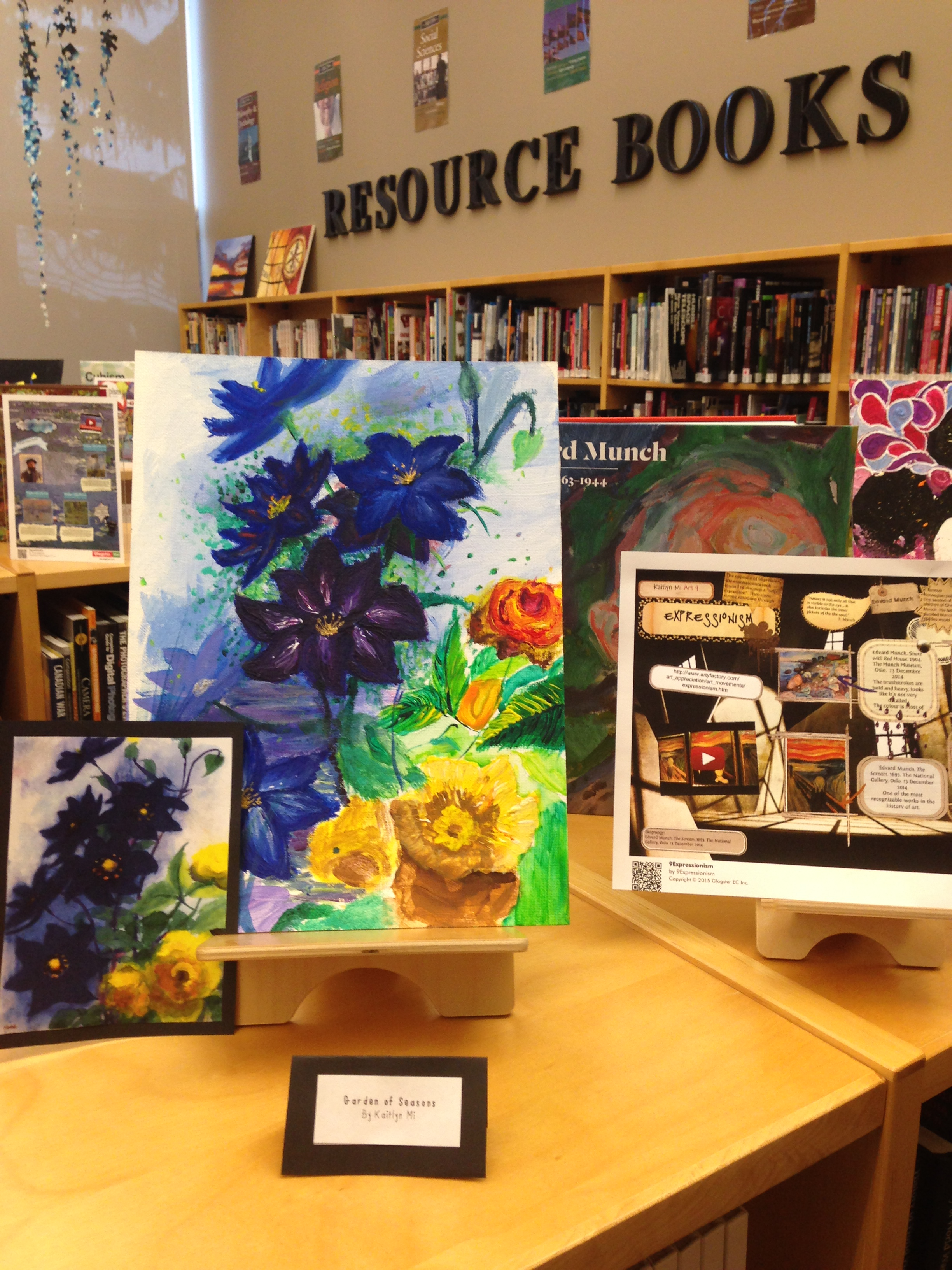 Art 9 Glogs   The Curious Library