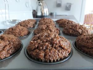 Vegan Bran Muffins (6)