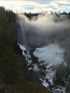 Helmcken Falls in Wells Gray Provincial Park, Clearwater BC