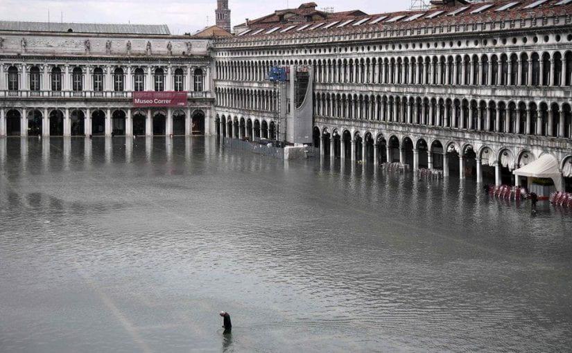 Les inondations à Venise – La ville est à genoux