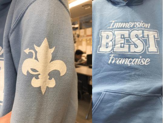 Charles Best : marchandise d'immersion française