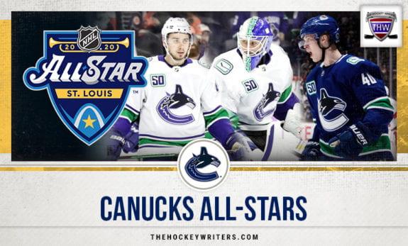 3 Canucks de Vancouver représenteront la division du Pacifique lors du match des étoiles de la LNH 2020