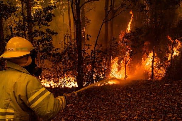 L'Australie demande aux équipes américaines de gestion des incidents d'aider aux feux de brousse