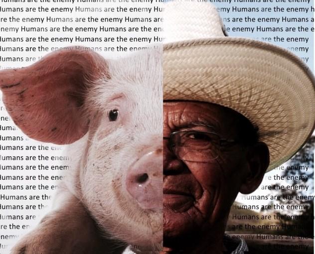 Animal farm propaganda poster