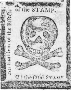 The Stamp Act taxed Americans on bought and sold items