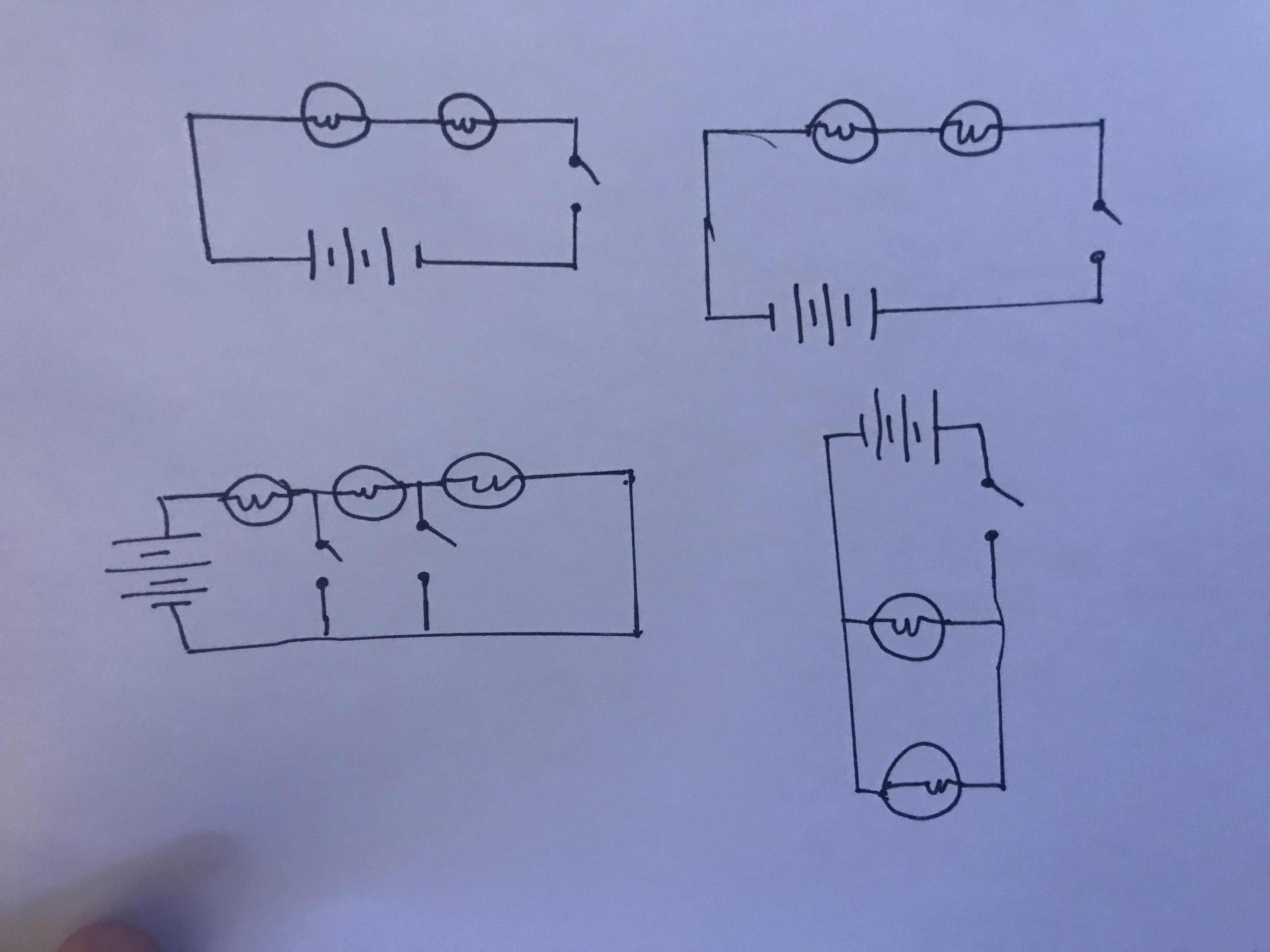 Self Assessment Elahehs Blog Parallel Circuit Bulbs Are In One Complex And For Us We Choose To Use The First Again Used Different Light Our Home Then Put