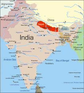 nepalMap_India