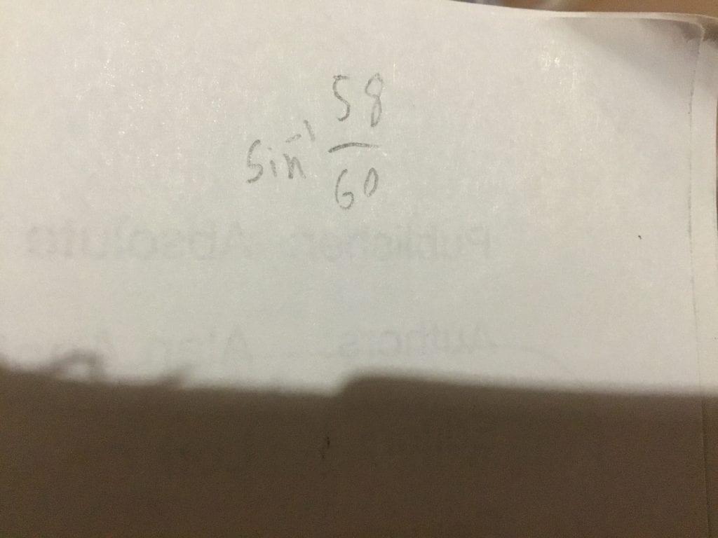 Math 10 Week 4: More Trigonometry