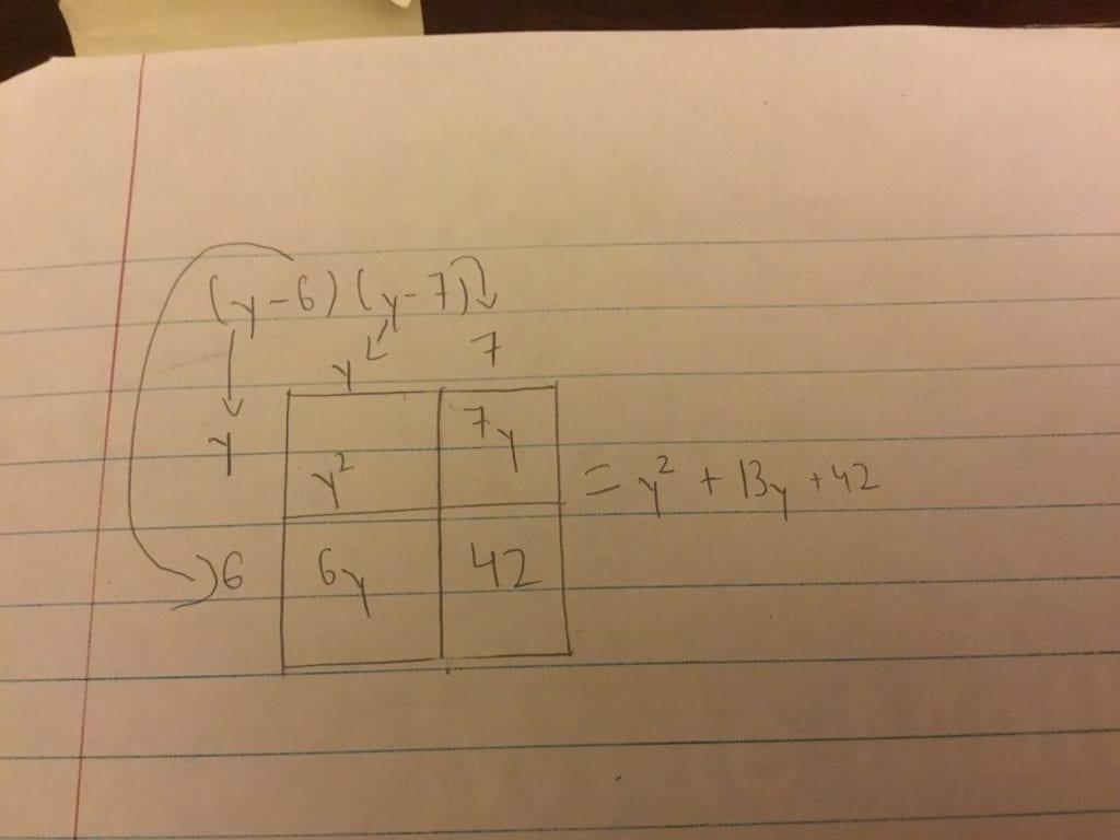 Math 10 Week 5: Multiplying Binomials