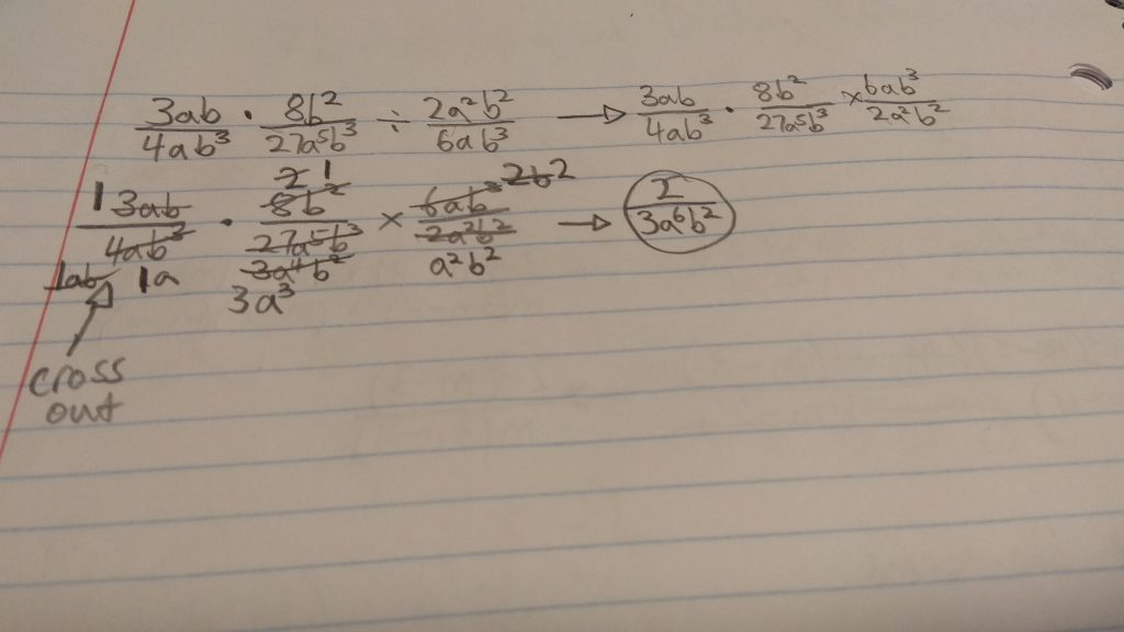 Week 14-Multiplying and Dividing Rational Expressions