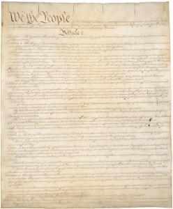 US Constitution, pg1 post treatment