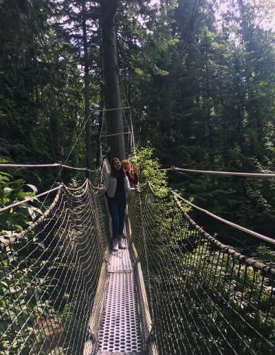 exploring UBC Botanical Gardens