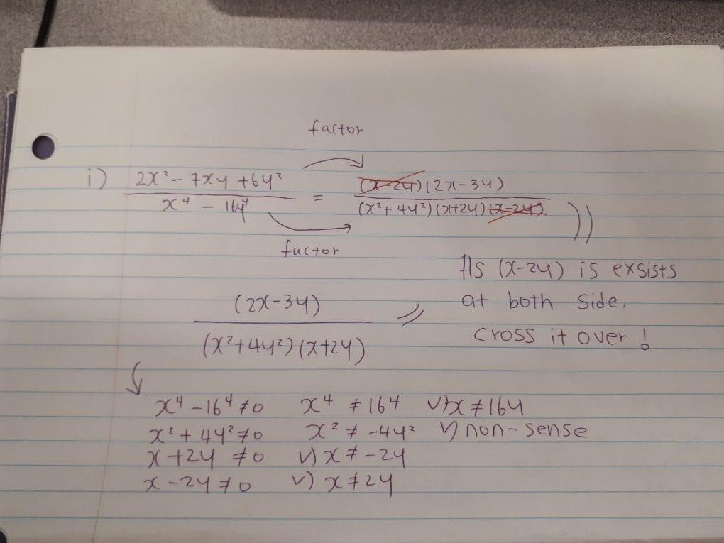 WEEK 14 -- PRE-Calculas 11