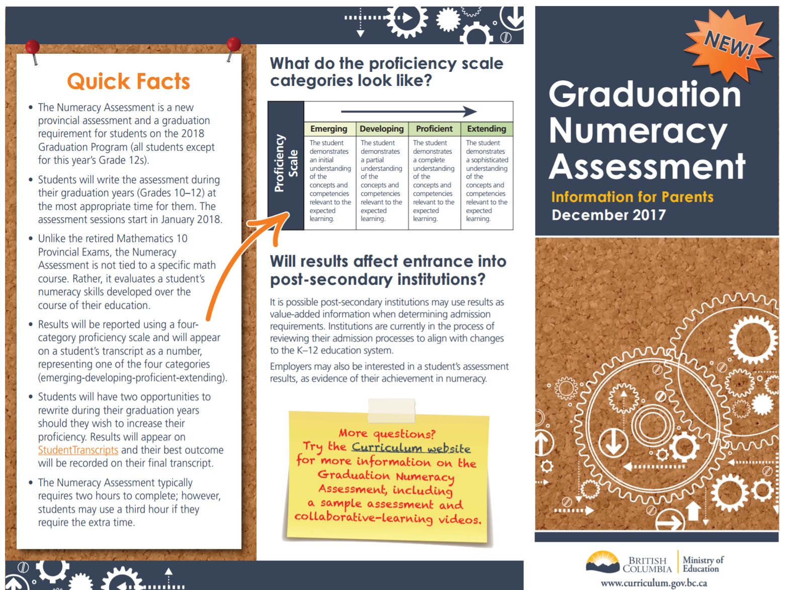 Grade 10/11 Numeracy Assessment Information