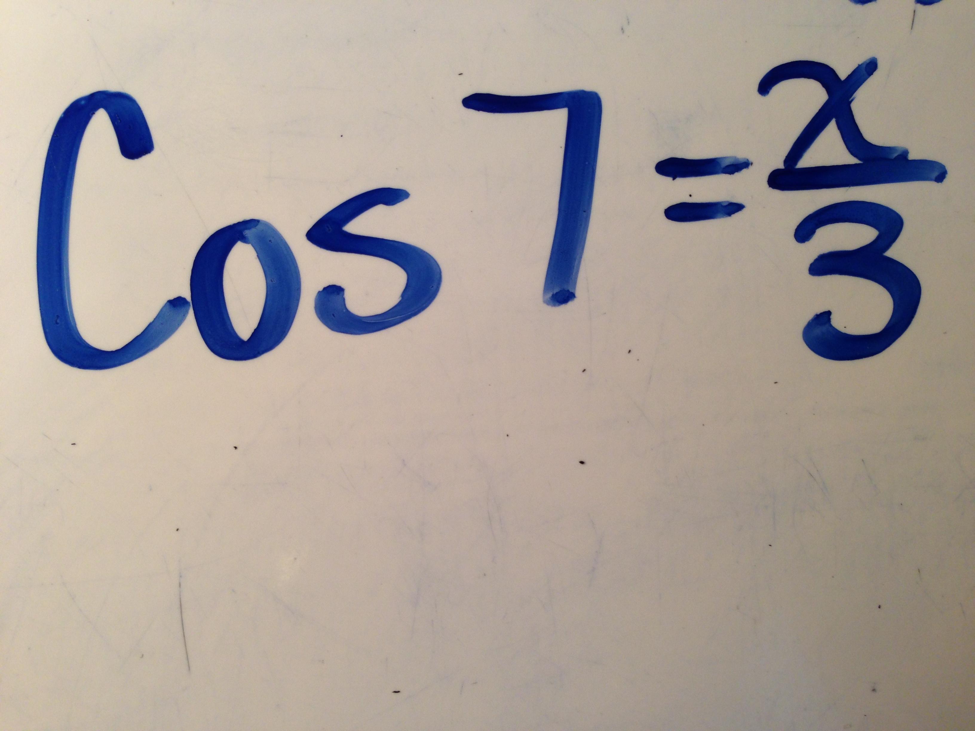 Solving Trig Equations Gabis Blog