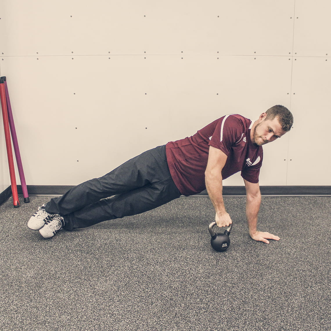 Exercise Kettlebell Overhead Windmill Modified