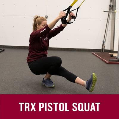 TRX Pistol Squat | MacEwan University Sport and Wellness
