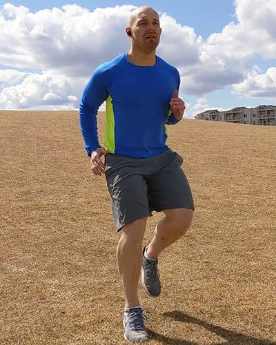 downhill run training