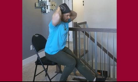 Single-leg Chair Squats