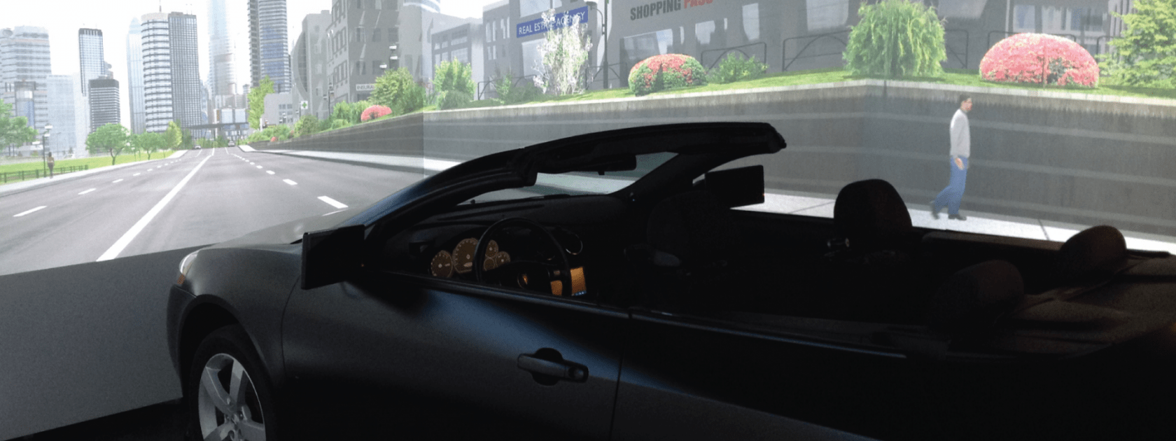 Drive Lab Car and Screen