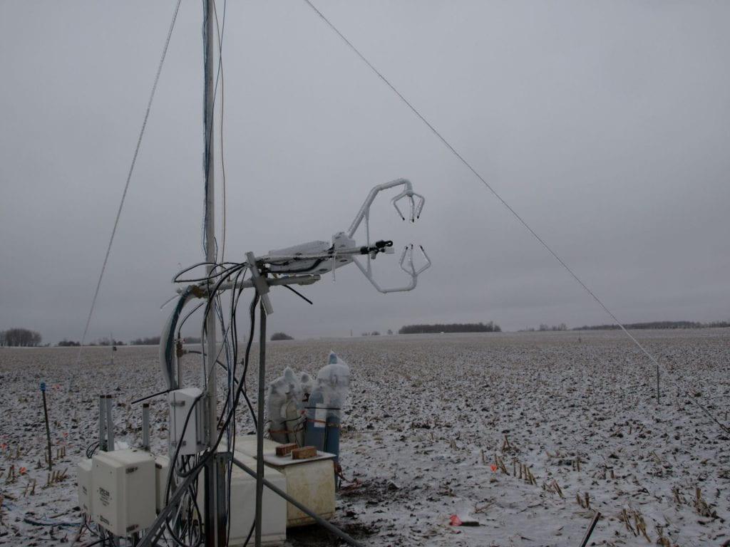 Wintertime Flux Measurements