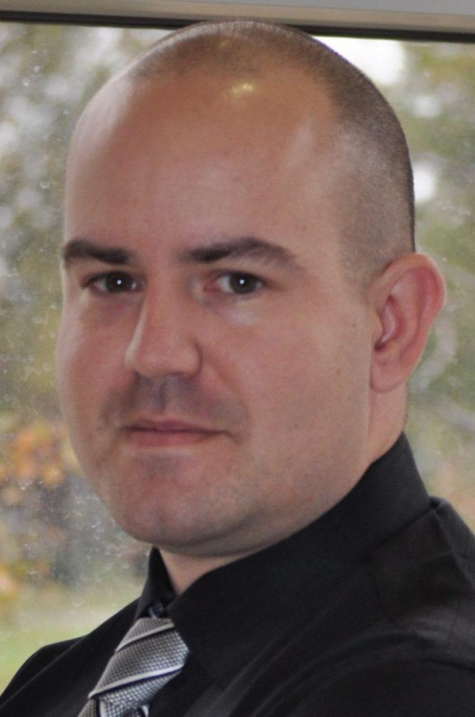 Headshot of Brandon Gilroyed.
