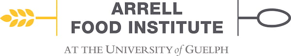 """Image of AFI logo. Image text: """"Arrell Food Institute at the University of Guelph."""""""