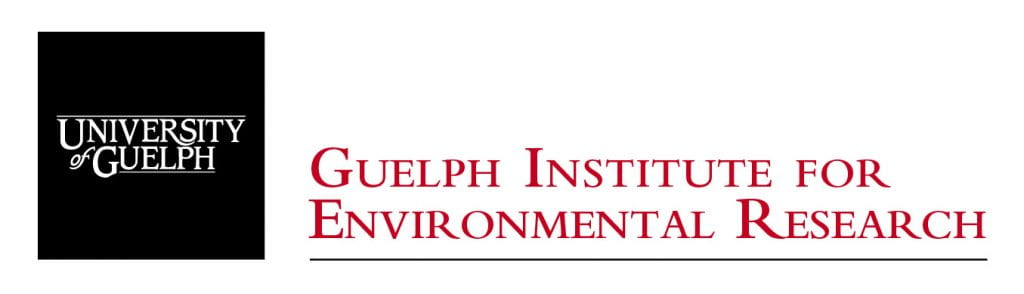 """Image of GIER logo. Image text: """"Guelph Institute for Environmental Research."""""""