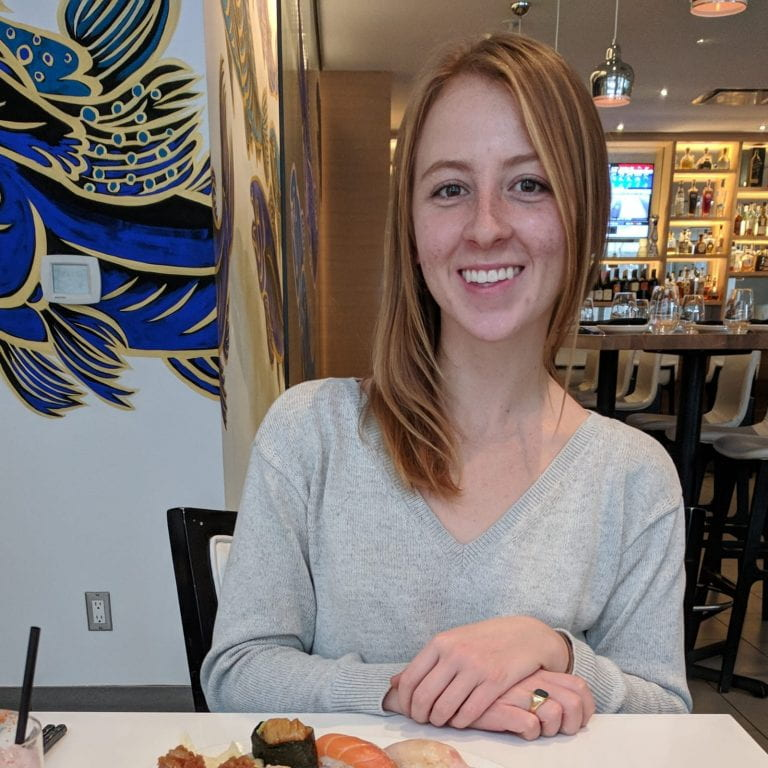 Tonia von Hugo, 3rd year Animal Biology student