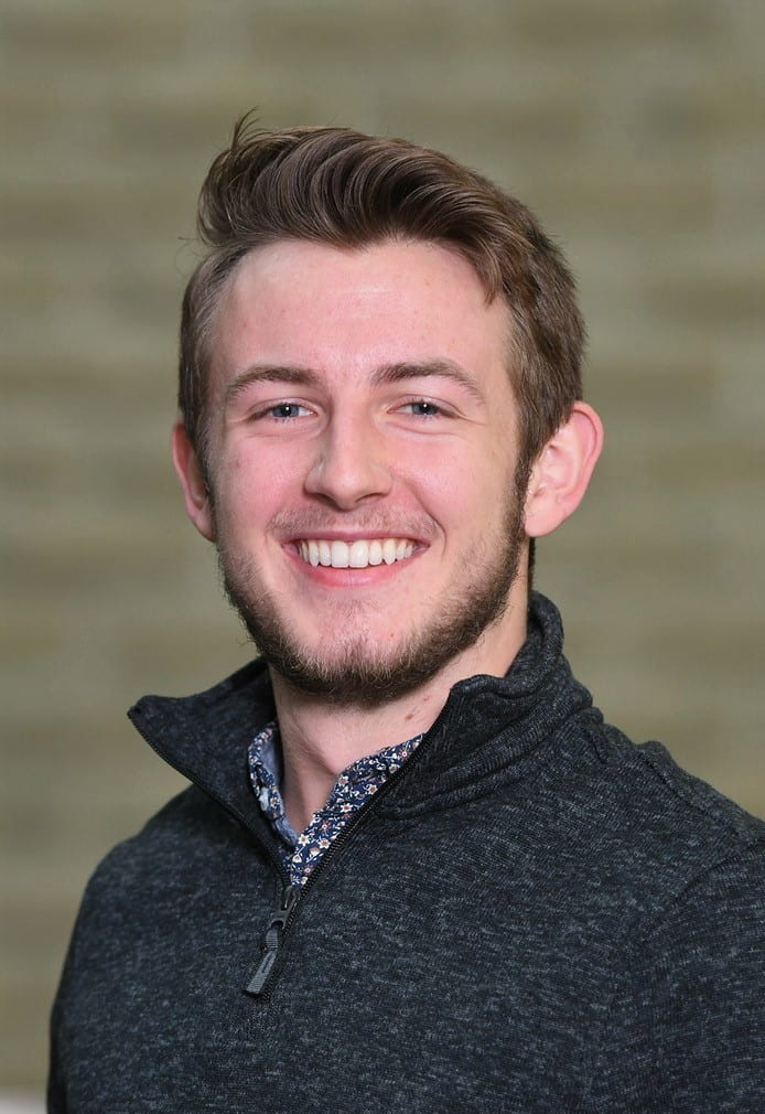 Simon Jeeves, undergraduate Microbiology student