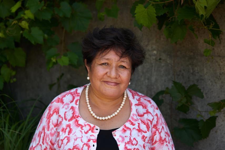 Headshot of Silvia Sarapura