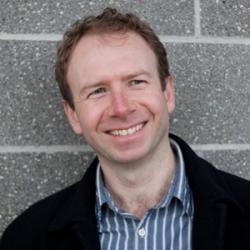 Headshot of Kieran O'Doherty.