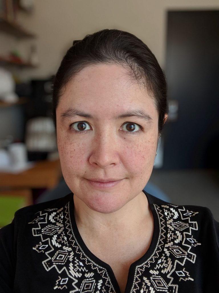 Headshot of Fiona May Kier James