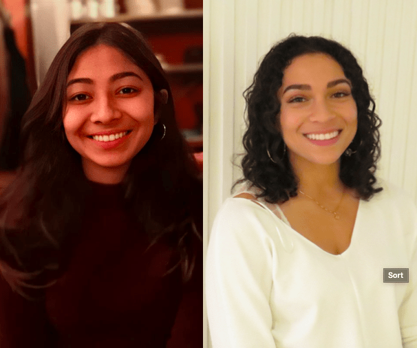 Priya Jain and Jessica Linton, fourth-year undergraduates in Biomedical Sciences and Animal Biology, respectively