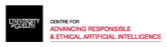 """Image of Care-AI logo. Image text: """"Centre for advancing responsible & ethical artificial intelligence."""""""