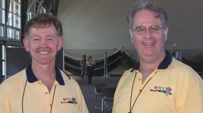 Chris Toth and Gordan Bates