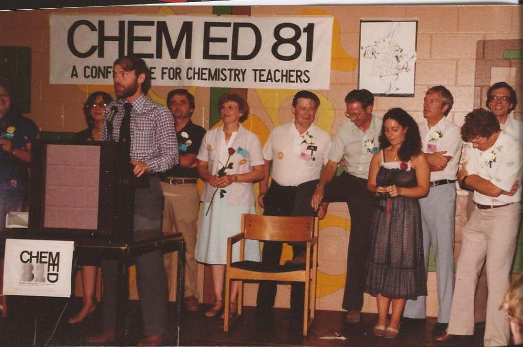 10 members of the ChemEd 81 committee members