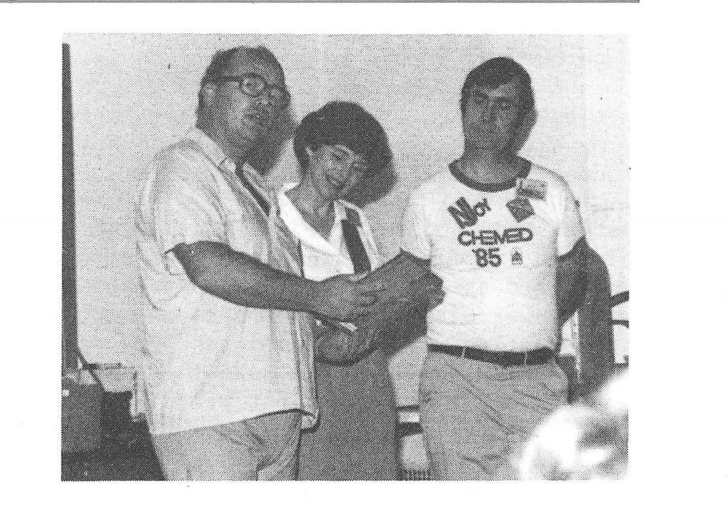 Reg Friesen, Diane Burnett and George Gross