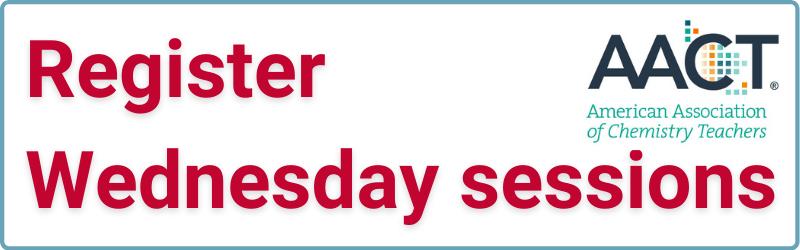 Register Wednesday sessions