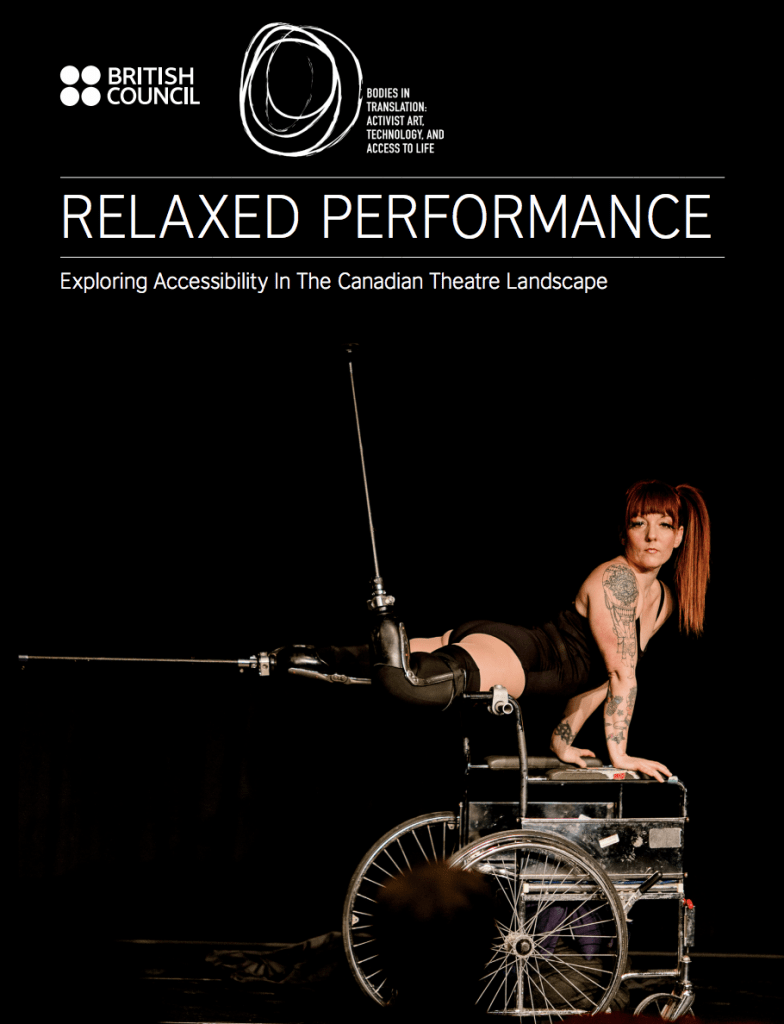 Relaxed Performance report cover